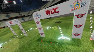 White FPV - Velocidrone - Football Stadium TBS EU Spec Series 9 Race 1