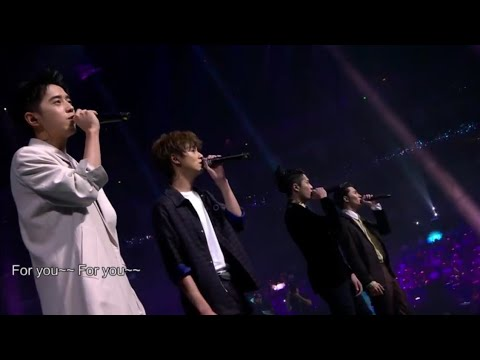 F4   for you  live performance