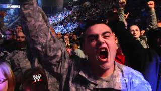 Nickelback - Burn It To The Ground @ WWE Tribute To The Troops 2011
