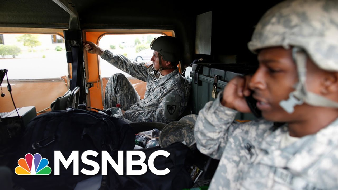 Georgia National Guard Ready To Assist With Hurricane Aftermath | Andrea Mitchell | MSNBC thumbnail