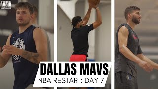 Luka Doncic, Seth Curry, Maxi Kleber & Dallas Mavs Get In Final Workouts Before Leaving To Orlando!