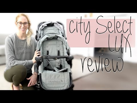 CITY SELECT LUX REVIEW | Baby Jogger single + double stroller!
