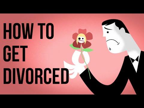 Jak se rozvést