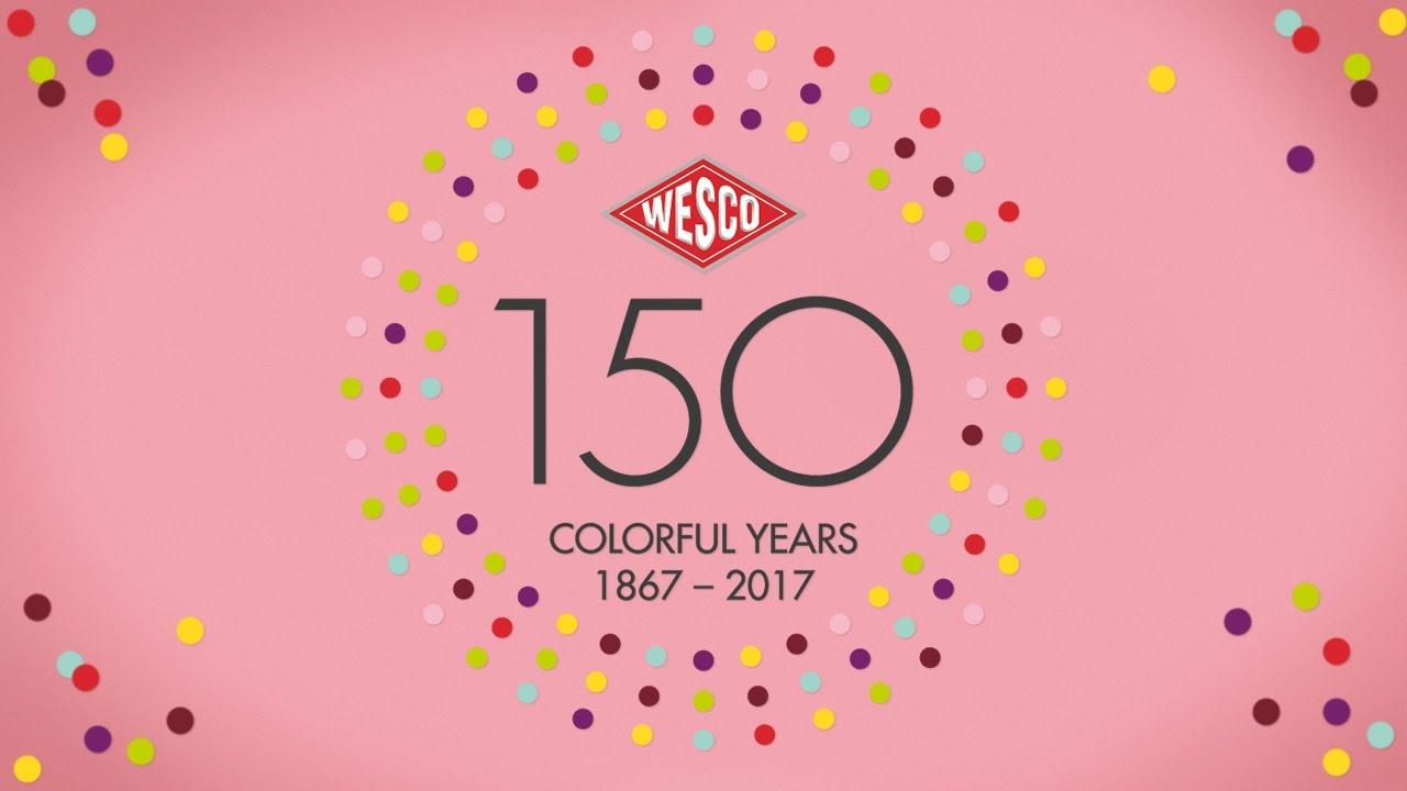 WESCO - 150 лет истории в ярком цвете