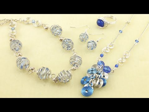 Introduction to Wire Jewellery - Part 1 of 5 (Jewelry Making)