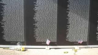 Moving Vietnam Wall Desloge Mo, October 2009