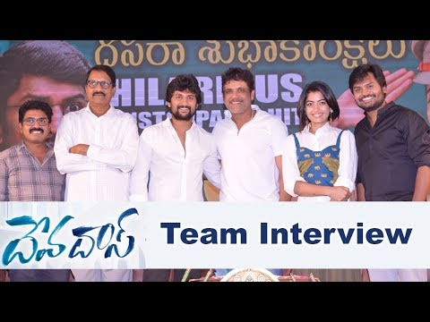 Devadas Movie Team Success Meet