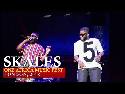 SKALES PERFORMANCE AT ONE AFRICA MUSIC FEST, LONDON 2018 [Nigerian entertainment]