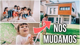 ¡NOS MUDAMOS! PRIMERA NOCHE en #CasaVerdeliss 🏠 REACCIONES de pasar del PISO a una CASA GIGANTE