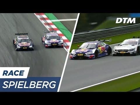 Matthias Ekström - The leader's performance at Race 2 - DTM Spielberg 2017