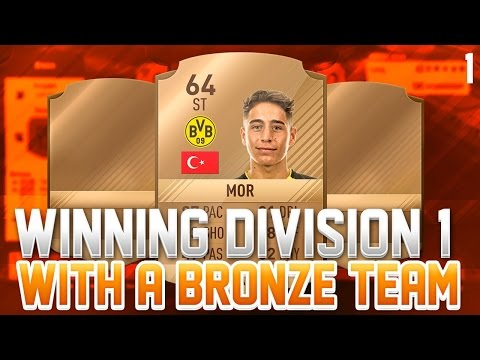 WINNING DIVISION 1 WITH A BRONZE TEAM #1 - FIFA 17