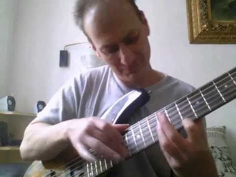 Bujka Balázs:d EE p in low E and Old Violin Sunburst 2013.