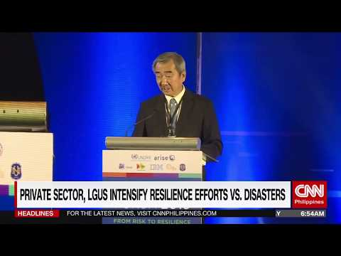 Private sector, LGUs intensify resilience effort vs. disaster