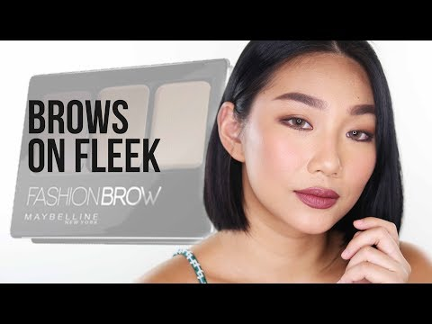 BROWS ON FLEEK With Maybelline Fashion Brow Collection