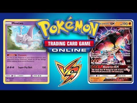 Necrozma GX / Malamar vs Buzzwole GX / Lycanroc – Pokemon Trading Card Game Online Gameplay