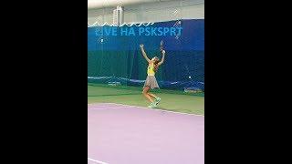 Теннис. 1/32. Девушки до 15 лет. 12 ноября 2018