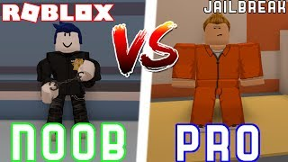 Pro VS Noob in JAILBREAK!! // Roblox Jail break Ft. MindNerder