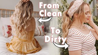 From Clean to Dirty with Only Drugstore Products! KayleyMelissa
