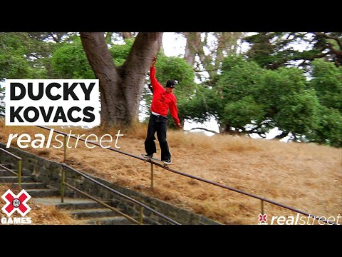 Image for video Ducky Kovacs: REAL STREET 2021 | World of X Games