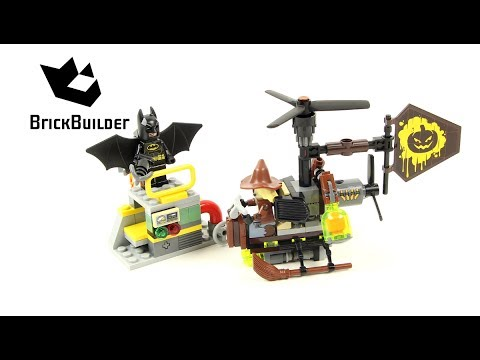 Vidéo LEGO The Batman Movie 70913 : Le face-à-face avec l'Épouvantail