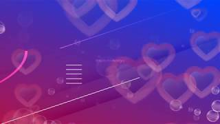 4K Heart motion graphics backgrounds | Moving Love Heart Animation | Hearts motion Background videos