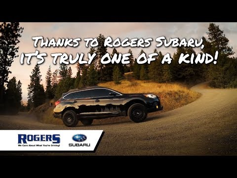 """Rogers Subaru - Ty's Outback - """"Truly One of a Kind"""""""