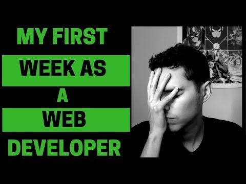 My FIRST WEEK As A Web Developer   Reality Check!!