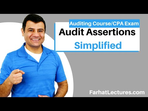 Audit Assertions AICPA | Auditing and Attestation | CPA Exam