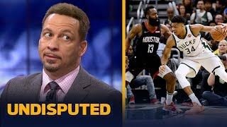 Chris Broussard reacts to Giannis and Bucks' 108-94 win over Harden and Rockets | NBA | UNDISPUTED