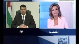 مقابلة محمد دحلان على قناة (anb) الفضائية