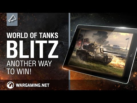 World of Tanks Blitz. Another way to win!