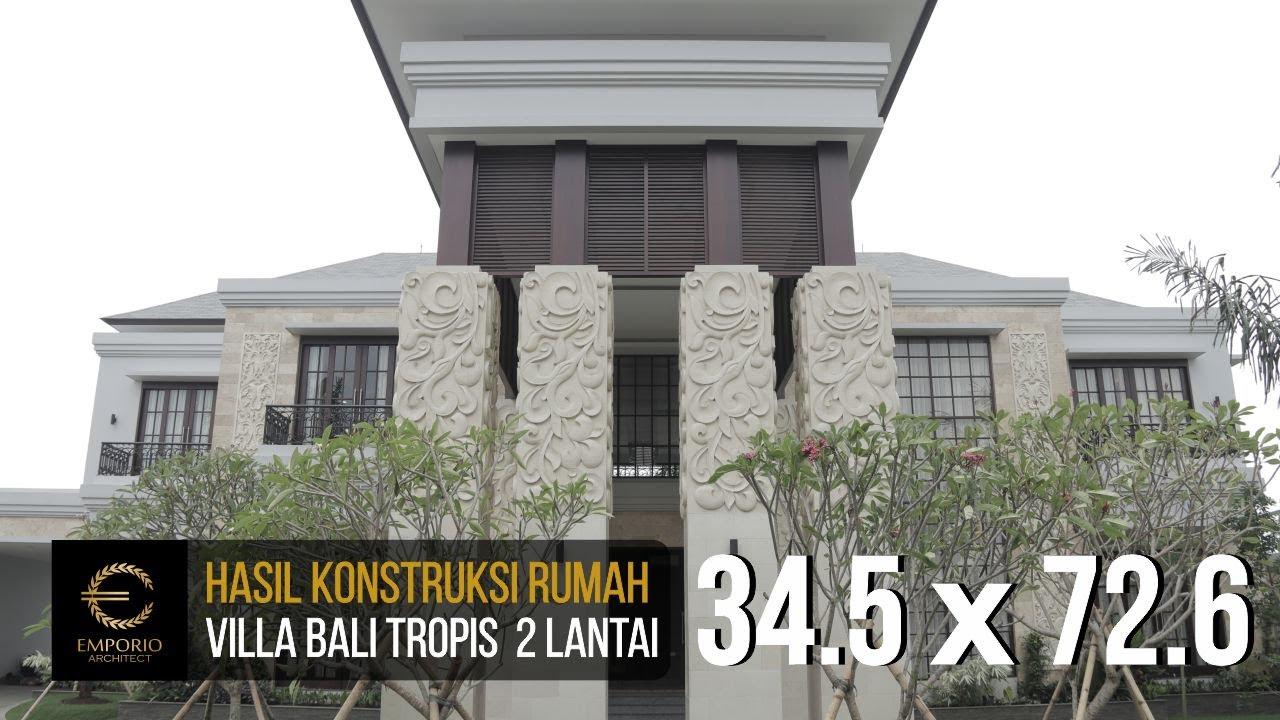 Video Construction Result of Mr. Andre II Private House - Medan, Sumatera Utara