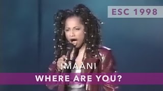 Imaani - Where are you (Eurovision Song Contest 1998)