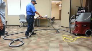 Waxie in-service CFR PRO-500 carpet extractor