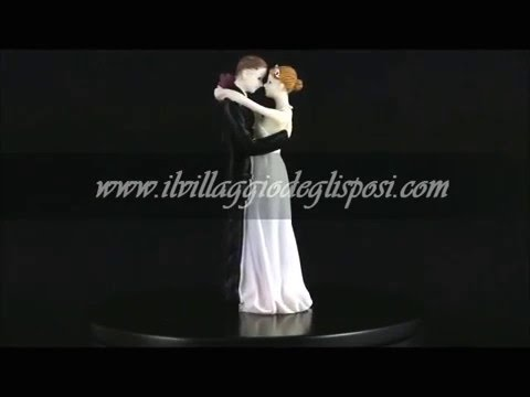 "Video - Cake topper ""baciami ora"""