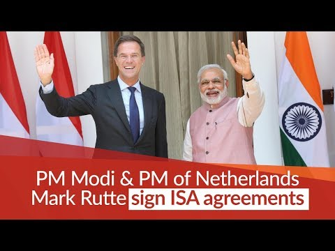 PM Modi and Netherlands