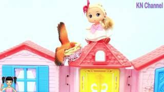 BabyBus - Tiki Mimi và Trò Chơi Búp bê leo lên nóc nhà