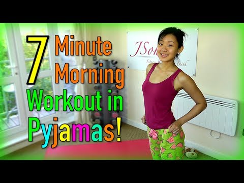 7-Minute Morning Workout in Pyjamas