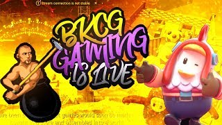 KYA AAJ  PC TUTEGA ?? Fall Guys, Getting Over It Later | BKCG Gaming | ROAD TO 250K