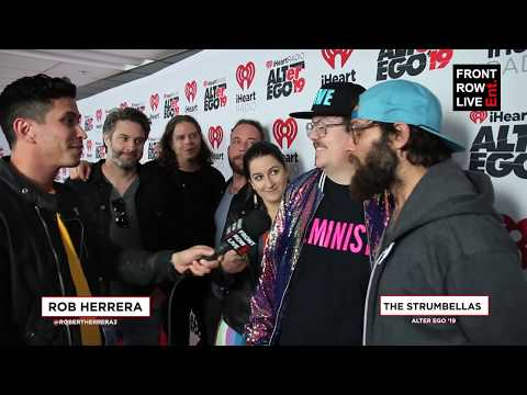 "The Strumbellas Talk ""Salvation"" & New Album At IHeartRadio ALTer Ego 2019 - Frontrowliveent"