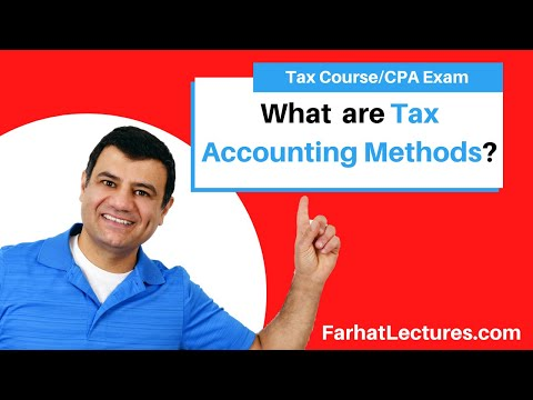Tax Accounting Methods   Income Tax Course   Tax Cuts and Jobs ...