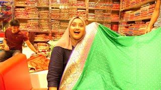 সাধ্যের মধ্যে বিয়ের শাড়ি.. Bridal Collection At Benaroshi Polli