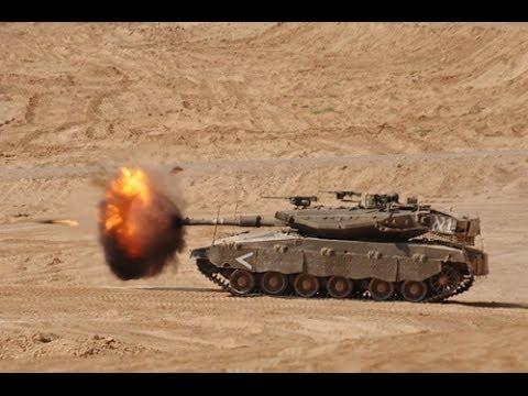 Tuyệt kĩ tấn công của xe tăng Merkava - Israel (top 1 tank thế giới)