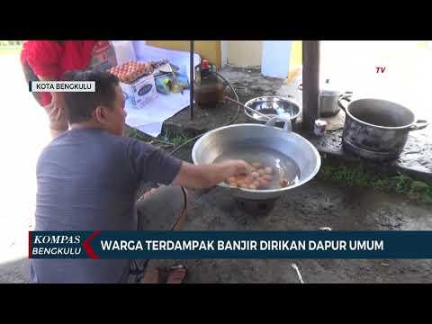 warga terdampak banjir dirikan dapur umum