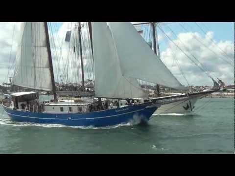 Schoner Stortemelk - Hanse Sail Rostock 2012