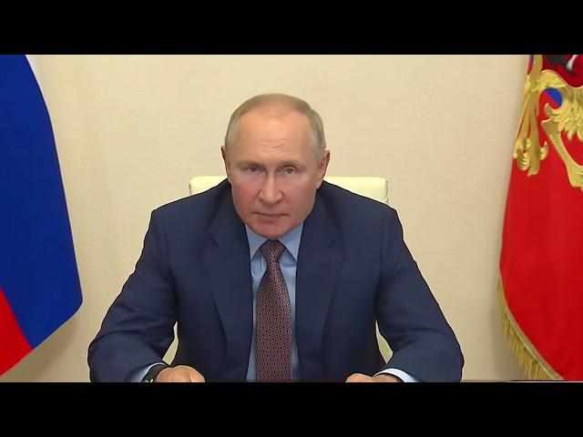 Президент РФ Владимир Путин запустил железнодорожное движение по второму Байкальскому тоннелю