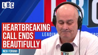 This heartbreaking call to Iain Dale ends in the most beautiful way