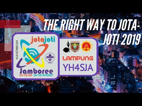 Tutorial JOTA JOTI Jambore On The Internet 2019 with scoutlink