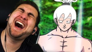 WHAT ARE THESE BARS?! | Kaggy Reacts to Tournament of BARS! Goku vs Jiren RAP BATTLE! (DBS Parody)