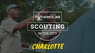 Scouting In The City   Charlotte   Boy Scouts Of America